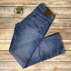 VTG Calvin Klein High Rise Boot Cut Denim Jeans